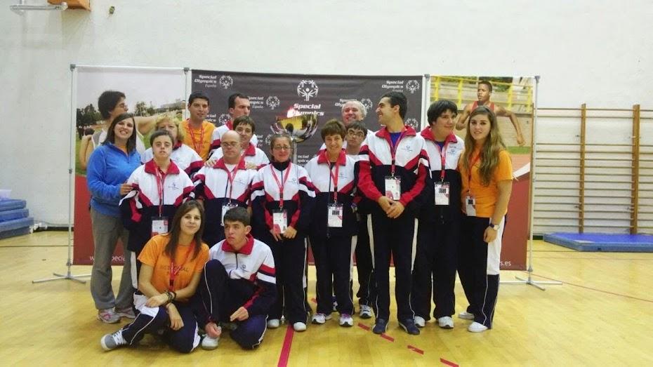 Equipo de Special Olympics Aragón
