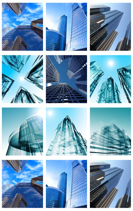 Stock Photo: Architecture and design