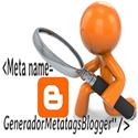 Generador deMeta-Tags Onlinepara Blogger