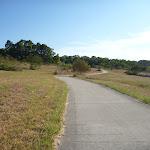 Shared bike/walking path in Green Point Reserve on Lake Macquarie (404032)