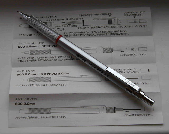 rotring rapid pro instructions