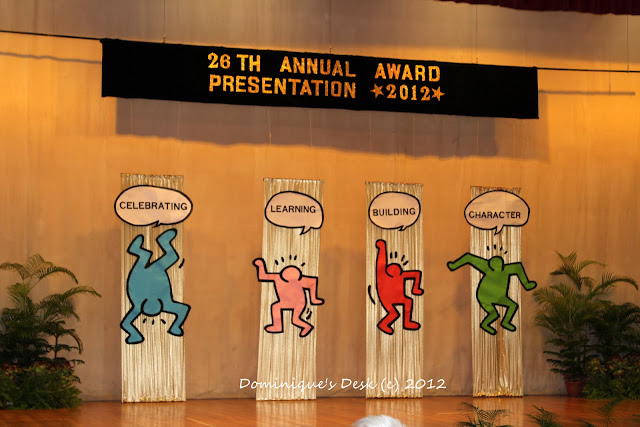 Monkey boy's award ceremony