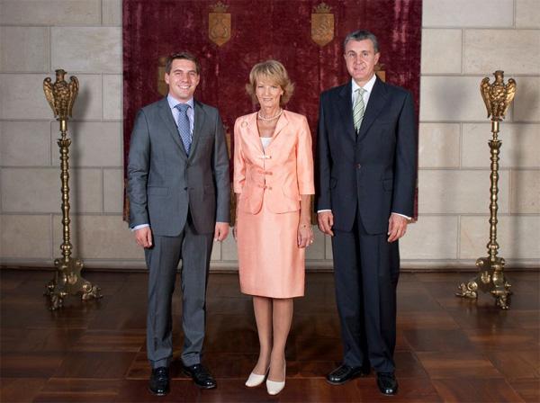 Familia Regală la aniversarea Încoronării de la Alba Iulia