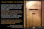 Estela Falsa Puerta de Sameri. Cultura egipcia