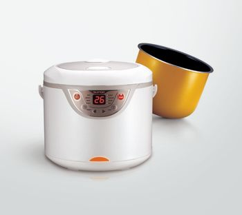 how to clean a new rice cooker