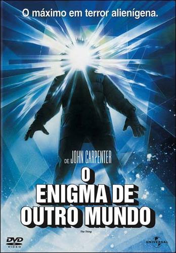 Filme Poster O Enigma de Outro Mundo DVDRip XviD & RMVB Dublado