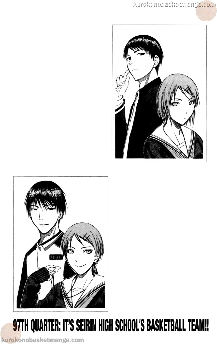 Kuroko no Basket Manga Chapter 97 - Image 01