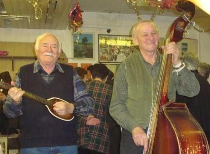 Музыканты клуба пенсионеров