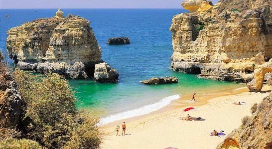 Praia da Coelha, Albufeira, Algarve