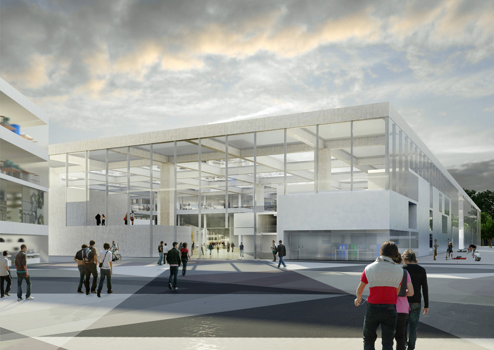 New engineering school in France design by OMA
