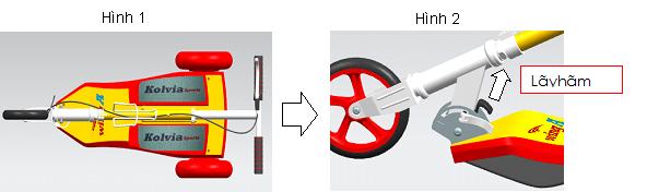 Xe trượt scooter đạp chân Wing A 11