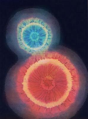 2º Dibujo:  La Evolución de la Luz - yinyang Libro: El Lucífero Creador Autor: Aon (Alejandro Nepote)