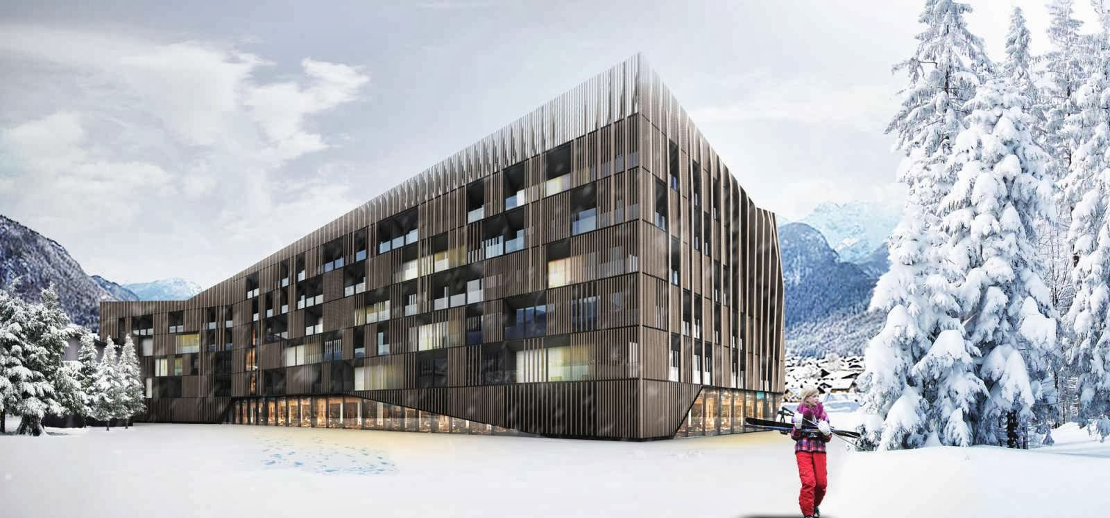Lofer, Austria: Graft Wins Mountain Resort Competition