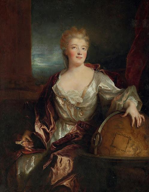 Nicolas de Largillière - Portrait de la marquise du Châtelet.
