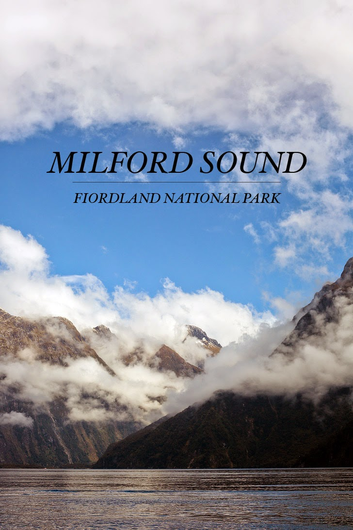 Fiordland National Park and Milford Sound New Zealand.
