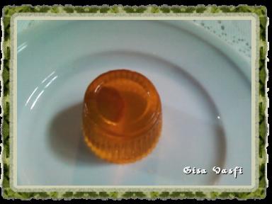 Trufa inscrustada na gelatina