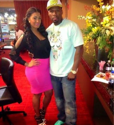 Holly fight up tatted 50 Cent