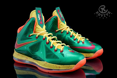 nike lebron 10 cs price is right 1 03 Nike LeBron X Price Is Right by Revive Customs