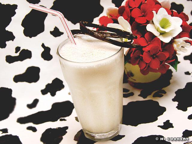 Lactose-Free Vanilla Milkshake