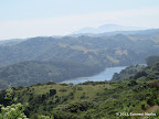 San Pablo Reservoir seen from San Pablo Ridge Trail