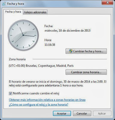 Hora ROA si el equipo pertenece a un dominio Windows