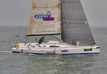 J/111 sailing Vuurschepenrace- North Sea RORC Race
