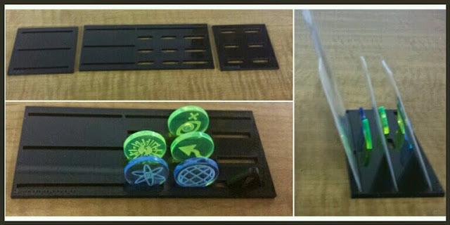 peanas para cartas y tokens Corsec Engineering