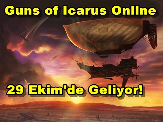 Guns of Icarus Online Geliyor!