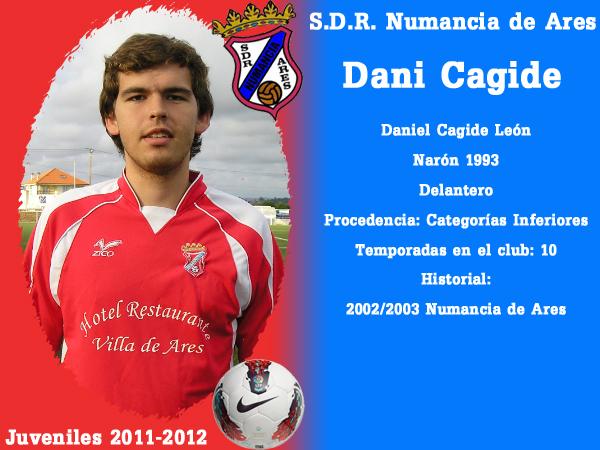 ADR Numancia de Ares. Xuvenís 2011-2012. DANI CAGIDE.
