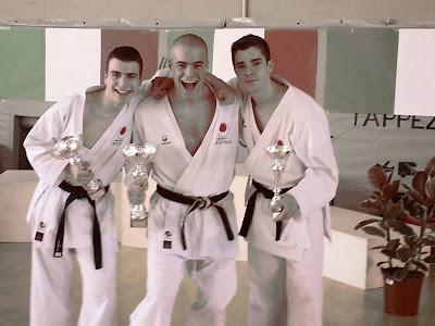 3^ Coppa JKA - Vincitori della categoria Cadetti