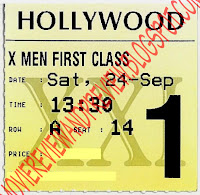 X-Men: First Class Ticket