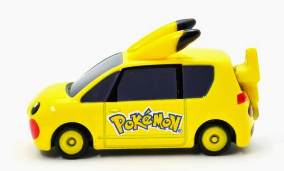 Dream Tomica 143 Mini Pikachu Car