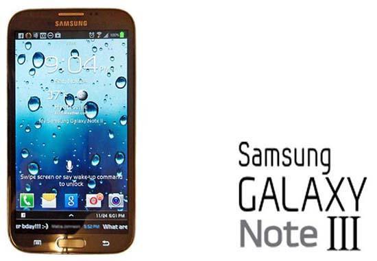 Spesifikasi Samsung Galaxy Note 3 Terungkap Menggunakan Android 4.3