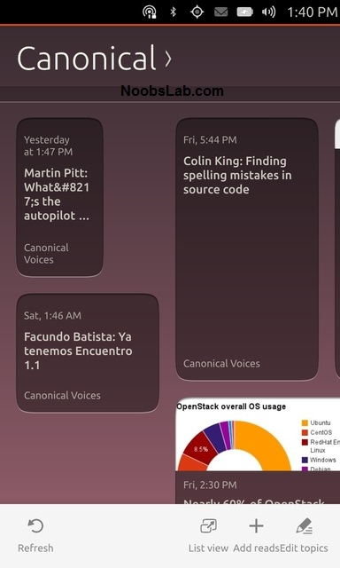 Ubuntu Touch rss