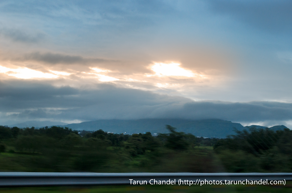 Mumbai Pune Expressway Clouds Sun, Tarun Chandel Photoblog