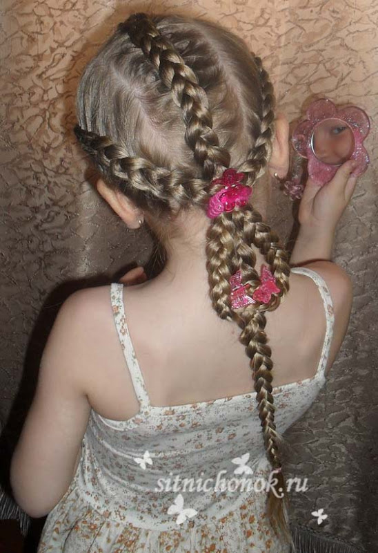 7 Beautiful Butterfly Hairstyle Tutorial For Girls