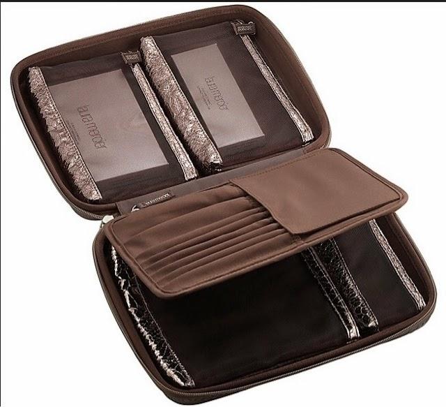 Laura Mercier Customized Portfolio Vs Sonia Kashuk Carry All Cosmetic Bag