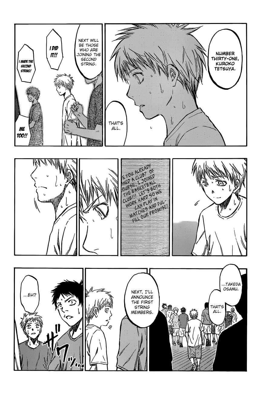 Kuroko no Basket Manga Chapter 204 - Image 16