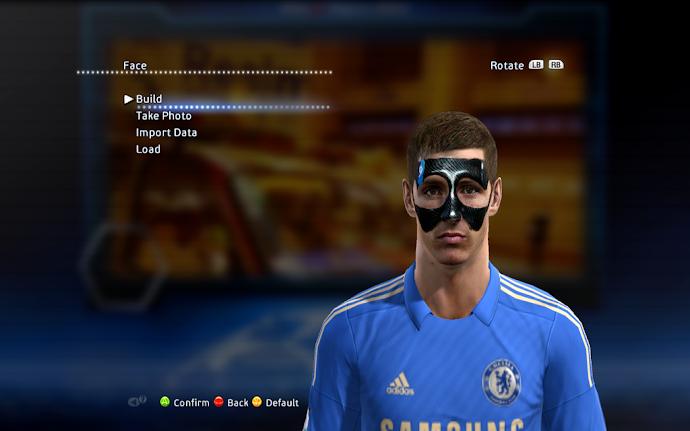 Fernando Torres Face - PES 2013