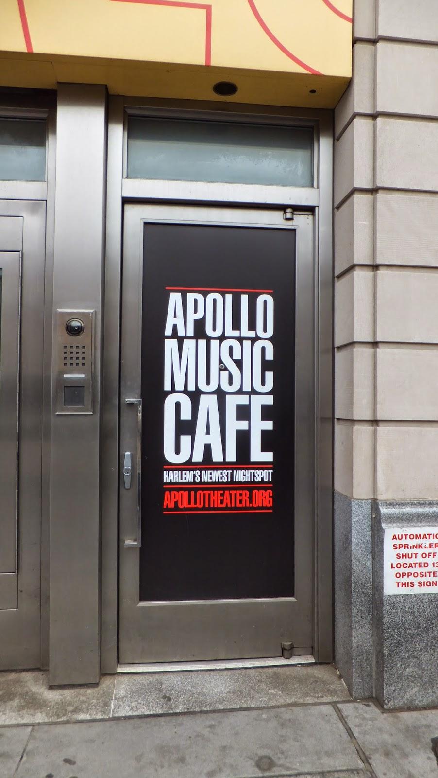 Apollo Music Cafe, Apollo Theater, Harlem, Manhattan, New York, Elisa N, Blog de Viajes, Lifestyle, Travel
