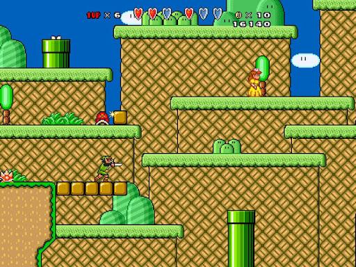 Jogando com os Amigos: Super Mario Bros X The Great Empire - Windows
