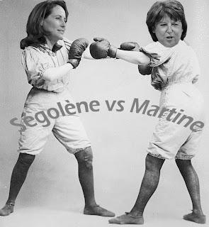 Ségolène Royale contre Martine Aubry