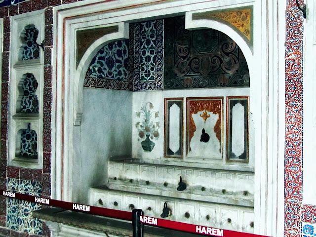 Fonte da habitación do Sultán