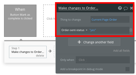 Updating the status of a Shopify clone order