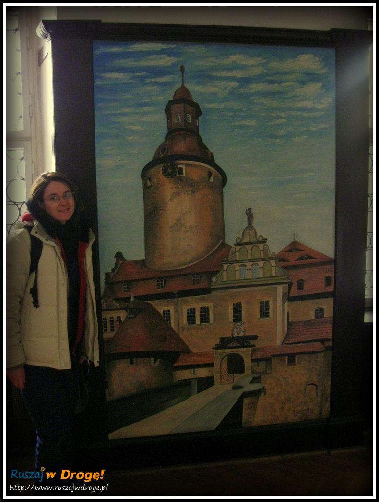 zamek czocha - malowidło zamkowe