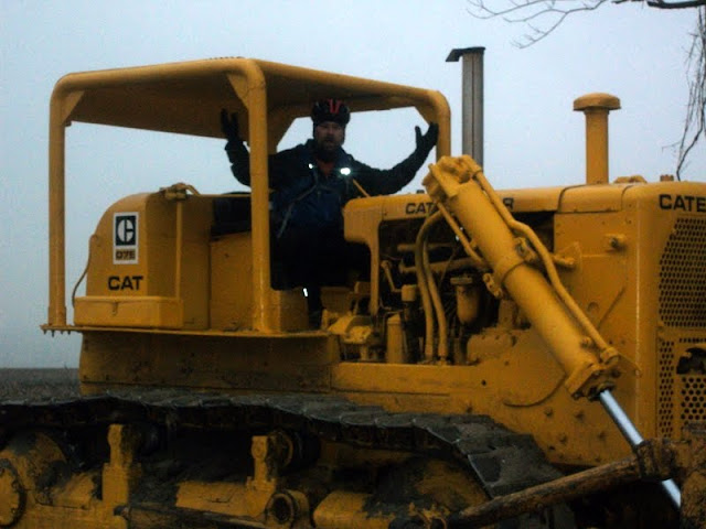 Riding a Bulldozer