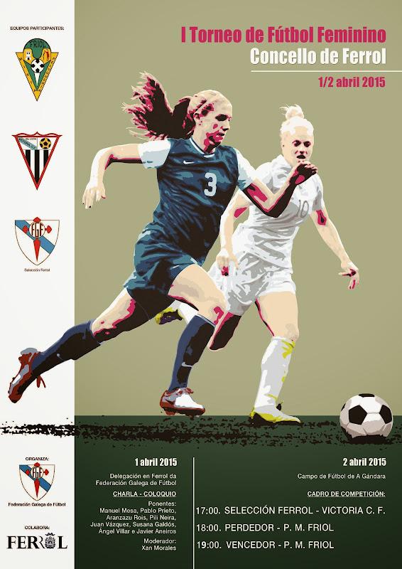 I Torneo de Fútbol Feminino Concello de Ferrol.