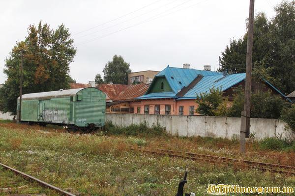 Приміщення колишнього луцького вокзалу