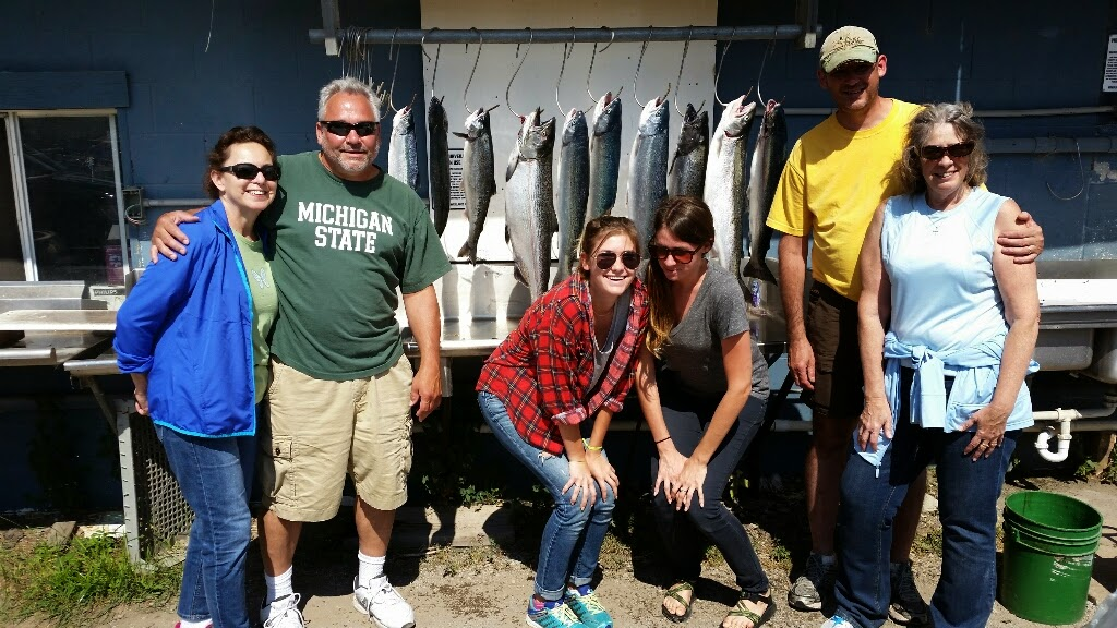 Muskegon King Salmon Fishing