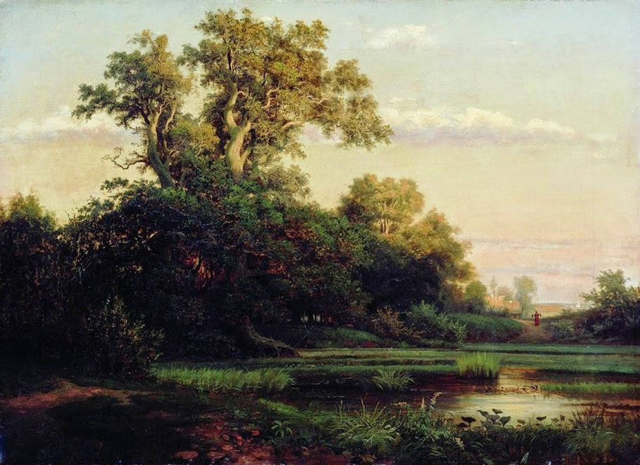Lev Kamenev - Evening. 1860